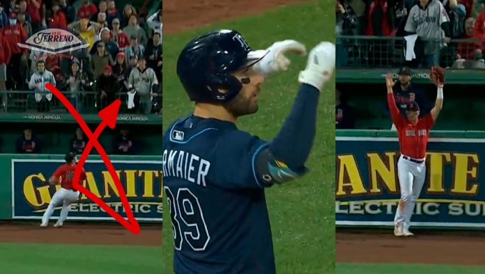 rays red sox kevin kiermaier